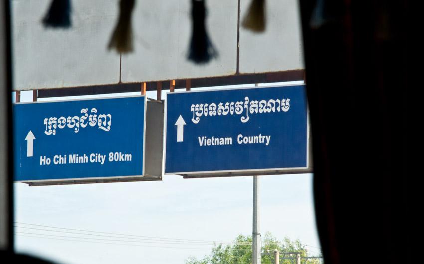 Cambodia - Vietnam: Border