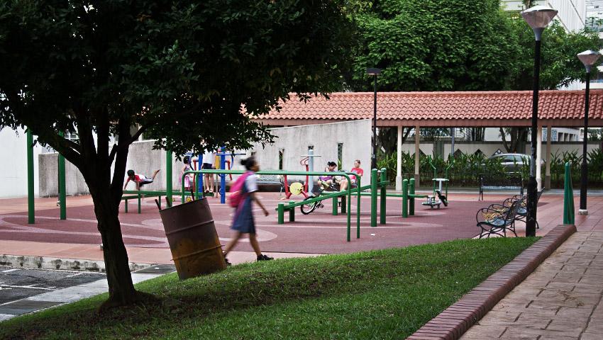 Spielplatz / Outdoor-Gym