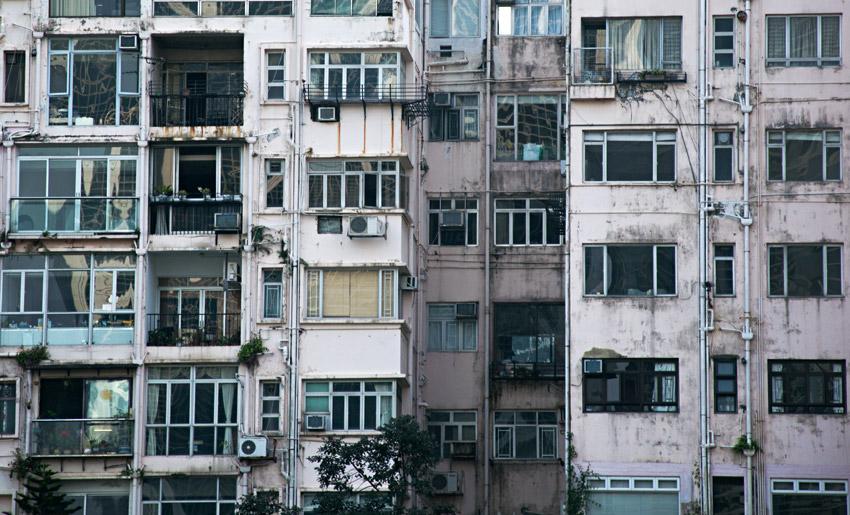 Begrenzter Wohnraum