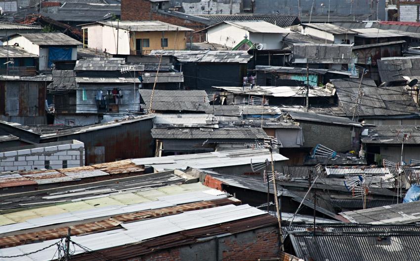 Wohnblock Jakarta