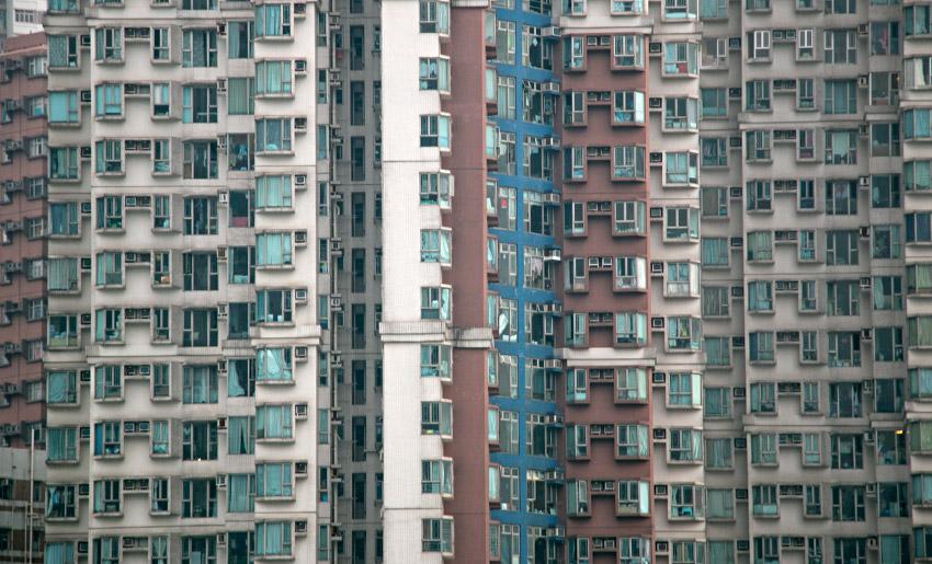Wohnhäuser in Aberdeen (Stadtteil Hongkongs)