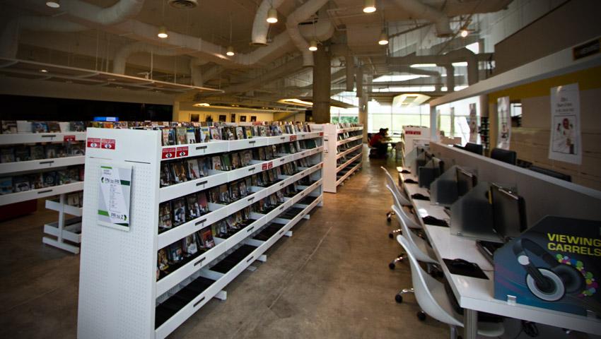 Die Bibliothek in der ADM